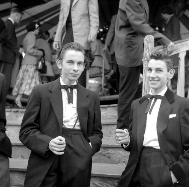 Teddy Boys в 50-е годы