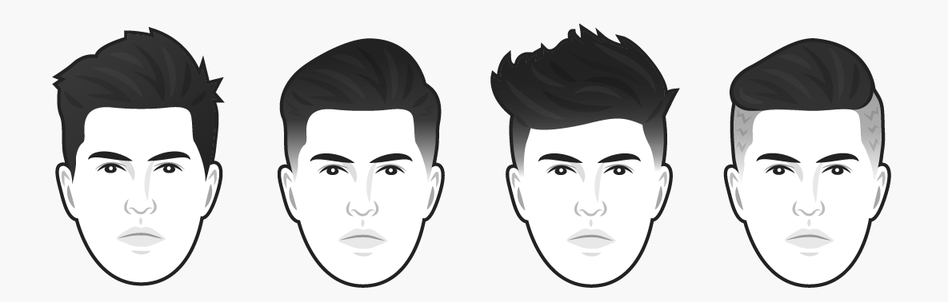Как подобрать мужскую прическу по типу лица