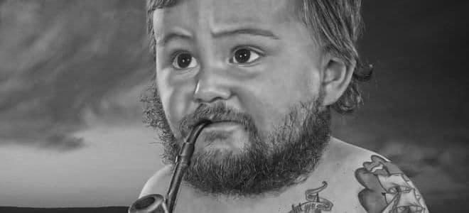 Когда начинает расти борода - изображение