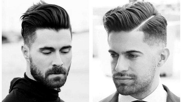 стрижка британка с бородой