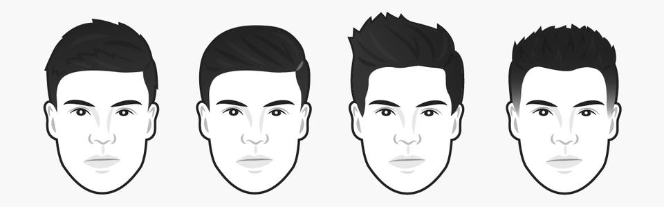 стрижки для мужчин с длинным лицом