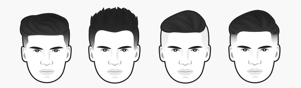 стрижки для мужчин с круглым лицом