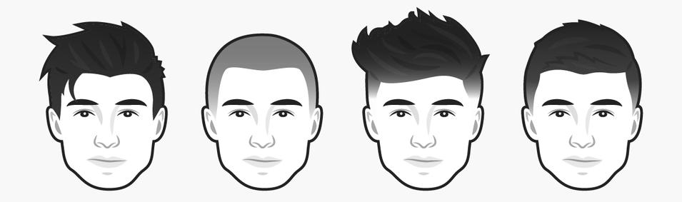 стрижки мужчинам с квадратным лицом
